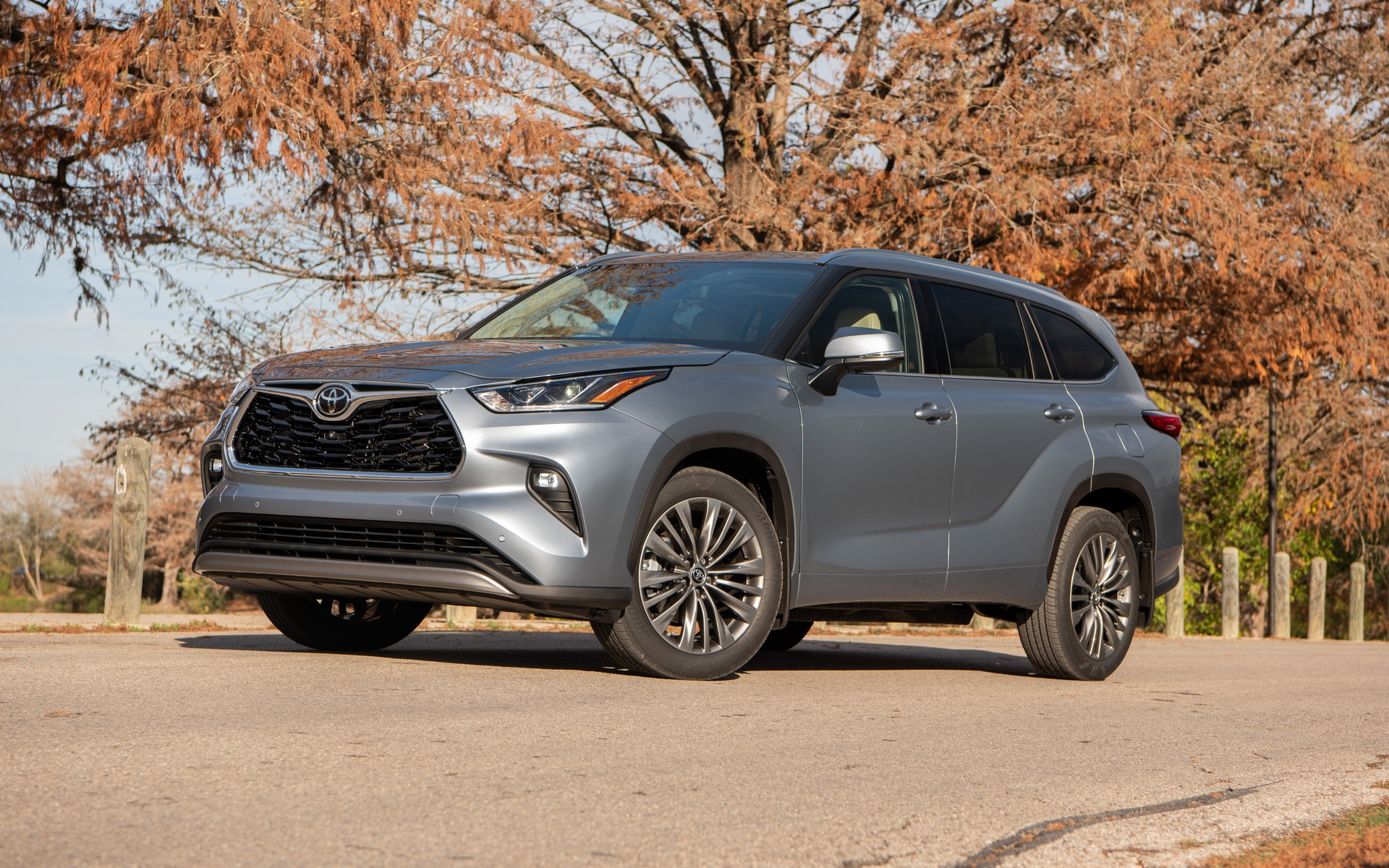 Toyota Highlander 2020 green