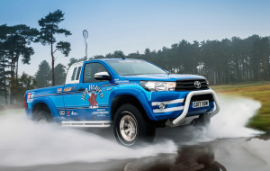 Toyota Hilux 2020 Green Wallpaper