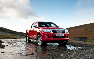 Toyota Hilux 2020 Red 4K Wallpapers