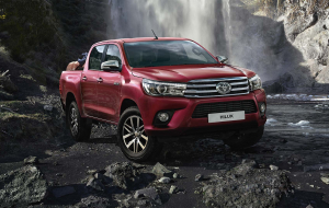 Toyota Hilux 2020 Red Beautiful Wallpaper