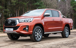 Toyota Hilux 2020 Red Full HD Wallpapers
