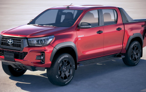 Toyota Hilux 2020 Red Gallery