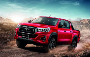 Toyota Hilux 2020 Red High Resolution