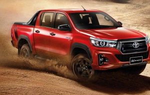 Toyota Hilux 2020 Red Images