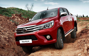 Toyota Hilux 2020 Red Pictures