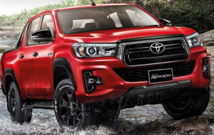 Toyota Hilux 2020 Red Wallpapers HQ