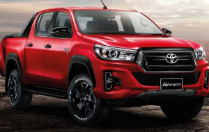 Toyota Hilux 2020 Red Wallpapers Pack