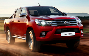 Toyota Hilux 2020 Red Widescreen