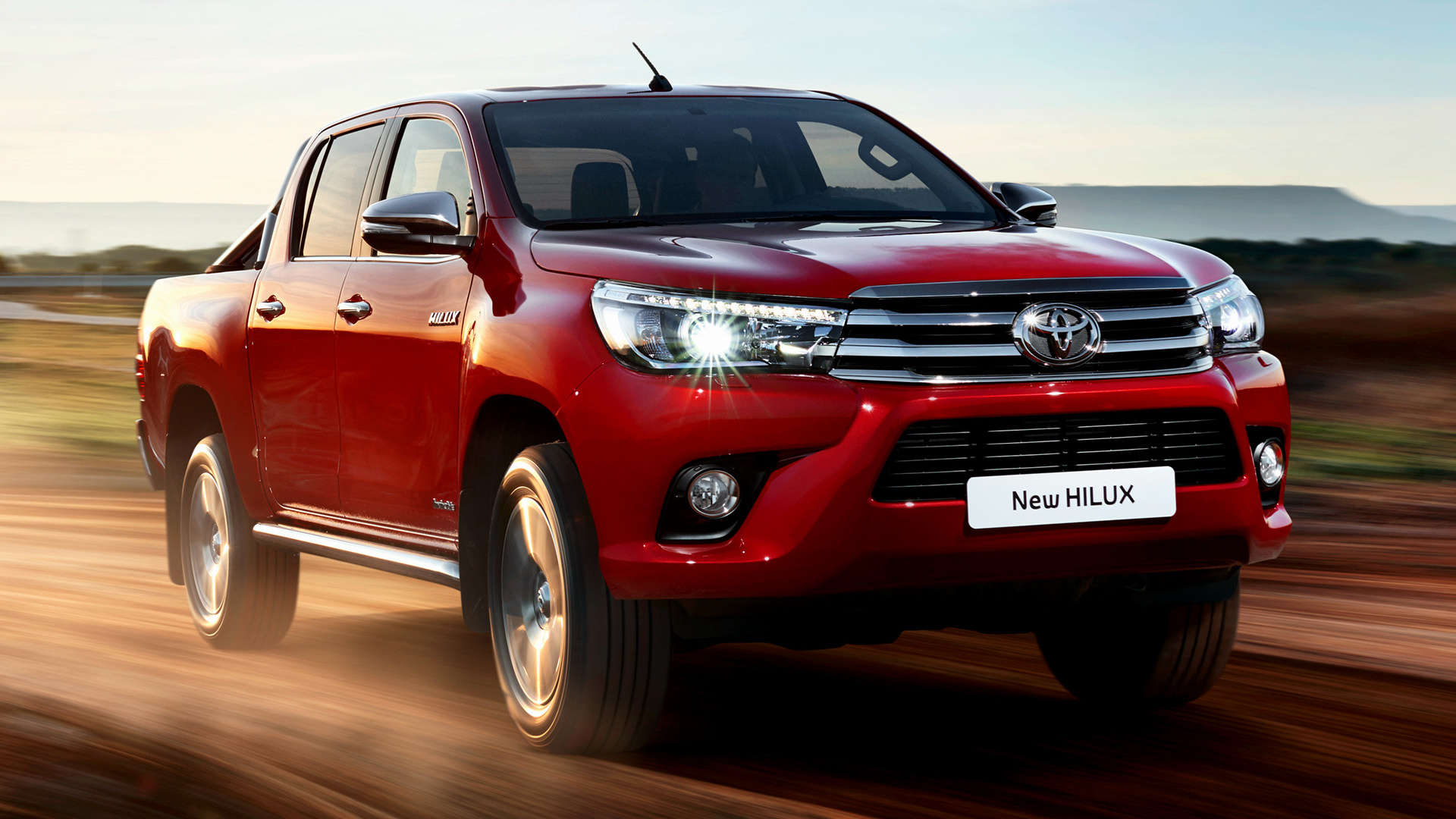 Toyota Hilux 2020 red