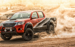 Toyota Hilux 2020 Silver 4K Wallpapers