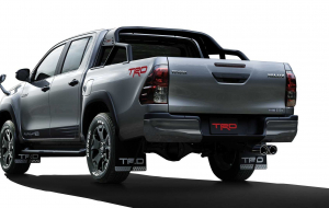 Toyota Hilux 2020 Silver Computer Wallpaper