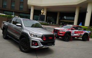 Toyota Hilux 2020 Silver High Resolution