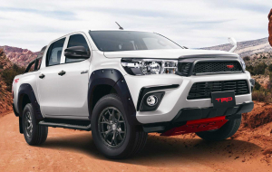 Toyota Hilux 2020 Silver Widescreen