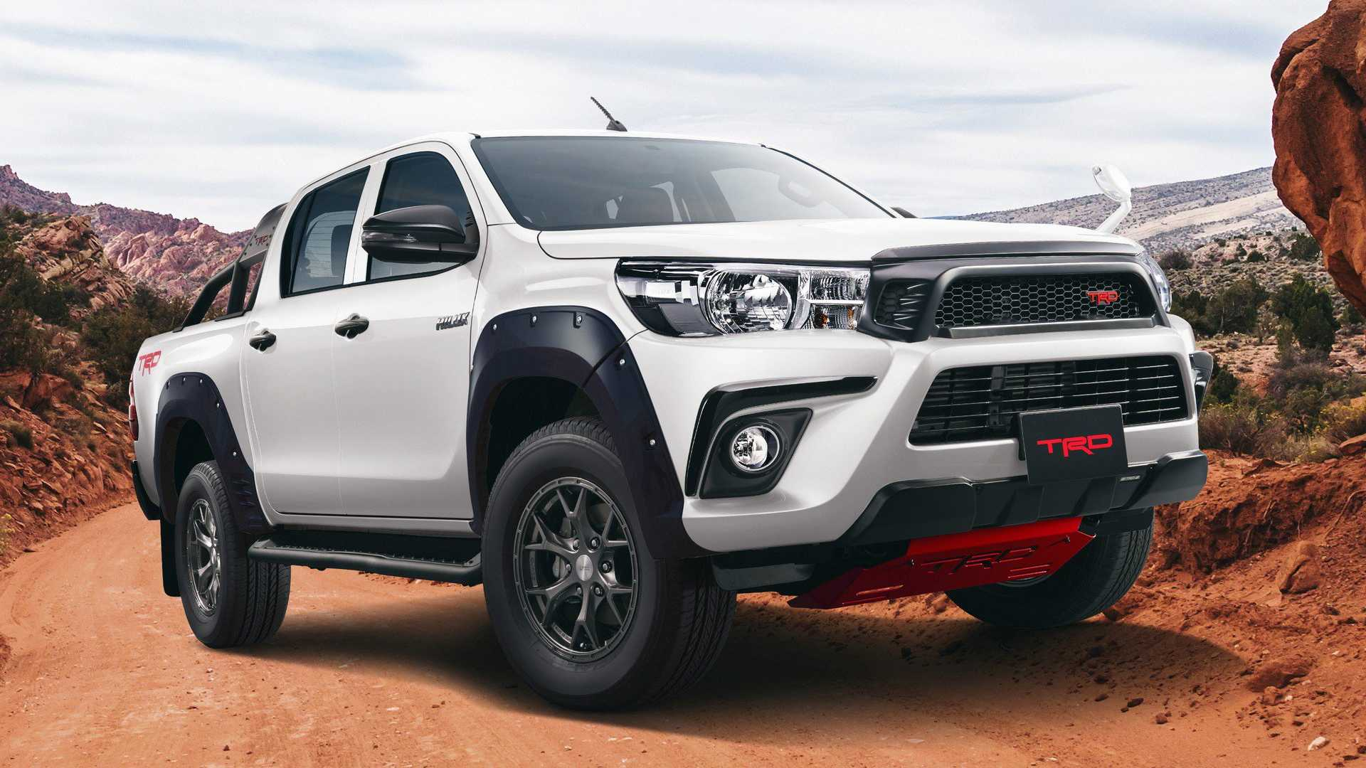 Toyota Hilux 2020 silver
