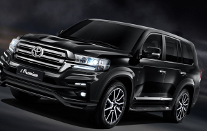 Toyota Land Cruiser 200 2020 Black Wallpapers HD