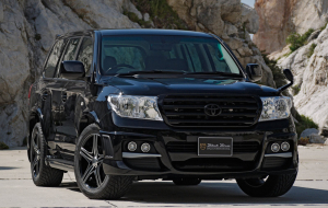Toyota Land Cruiser 200 2020 Black Wallpapers Pack