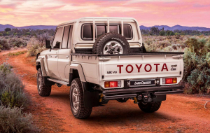 Toyota Land Cruiser 200 2020 White Wallpapers For IPhone