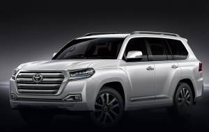 Toyota Land Cruiser 200 2020 White Wallpapers Pack
