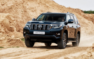 Toyota Land Cruiser Prado 2020 Blue Wallpapers HD