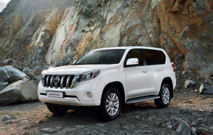 Toyota Land Cruiser Prado 2020 Blue Wallpapers For Android