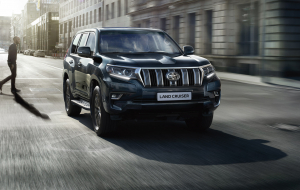 Toyota Land Cruiser Prado 2020 Blue Widescreen