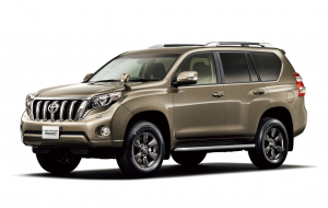 Toyota Land Cruiser Prado 2020 Silver 4K Wallpapers