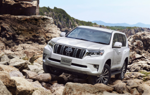 Toyota Land Cruiser Prado 2020 Silver Computer Wallpaper
