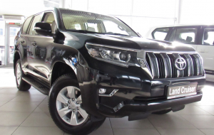 Toyota Land Cruiser Prado 2020 Silver Photos