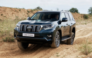 Toyota Land Cruiser Prado 2020 Silver Wallpapers For Android