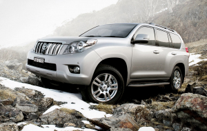 Toyota Land Cruiser Prado 2020 Silver Wallpapers Pack
