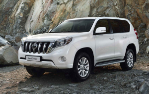 Toyota Land Cruiser Prado 2020 White Full HD Wallpapers