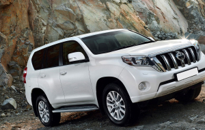 Toyota Land Cruiser Prado 2020 White In HQ