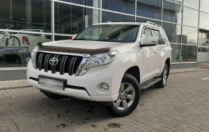 Toyota Land Cruiser Prado 2020 White Pictures