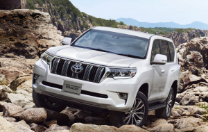 Toyota Land Cruiser Prado 2020 White Pinterest