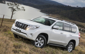 Toyota Land Cruiser Prado 2020 White Wallpapers HD