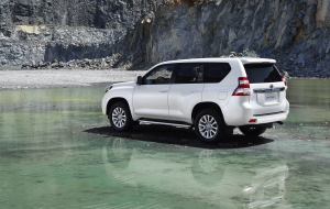 Toyota Land Cruiser Prado 2020 White Widescreen
