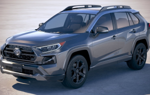 Toyota RAV4 2020 Gray Full HD Wallpapers