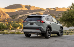 Toyota RAV4 2020 Gray Wallpapers Pack