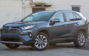 Toyota RAV4 2020 Green In HQ