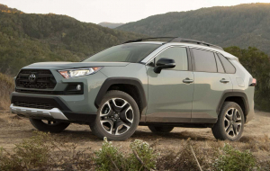 Toyota RAV4 2020 Green Pictures
