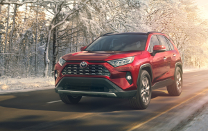 Toyota RAV4 2020 Silver Full HD Wallpapers