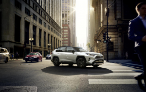 Toyota RAV4 2020 Silver High Resolution