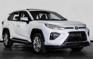 Toyota RAV4 2020 White Beautiful Wallpaper