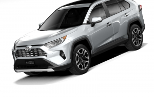 Toyota RAV4 2020 White High Resolution