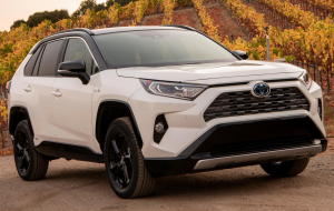 Toyota RAV4 2020 White Wallpapers HD