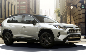 Toyota RAV4 2020 White Wallpapers For IPhone