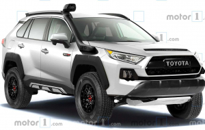 Toyota RAV4 2020 White Widescreen