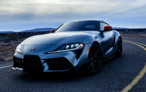 Toyota Supra 2020 Blue In HQ
