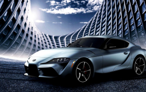 Toyota Supra 2020 Blue Wallpapers HD