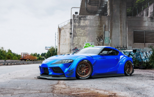 Toyota Supra 2020 Blue Wallpapers For Android